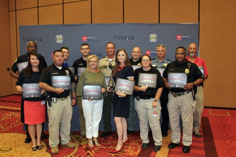 Clarksville-Montgomery County Traffic Safety Task Force receives Directors Award from Tennessee Highway Safety Office.