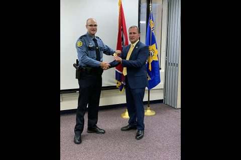 Montgomery County Sheriff's Office promotes Daniel Gagnon to Sergeant.