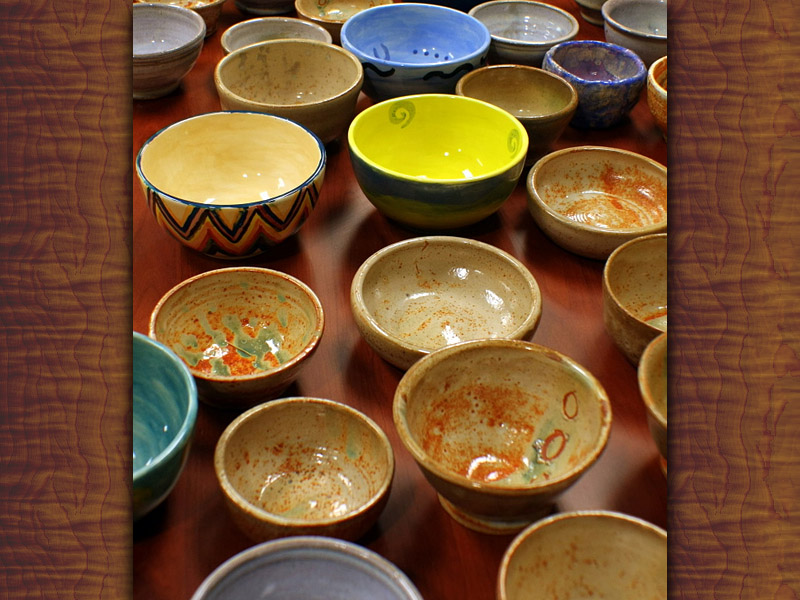 Arts for Hearts Clarksville to hold Empty Bowls free painting event at Downtown Commons on October 3rd.