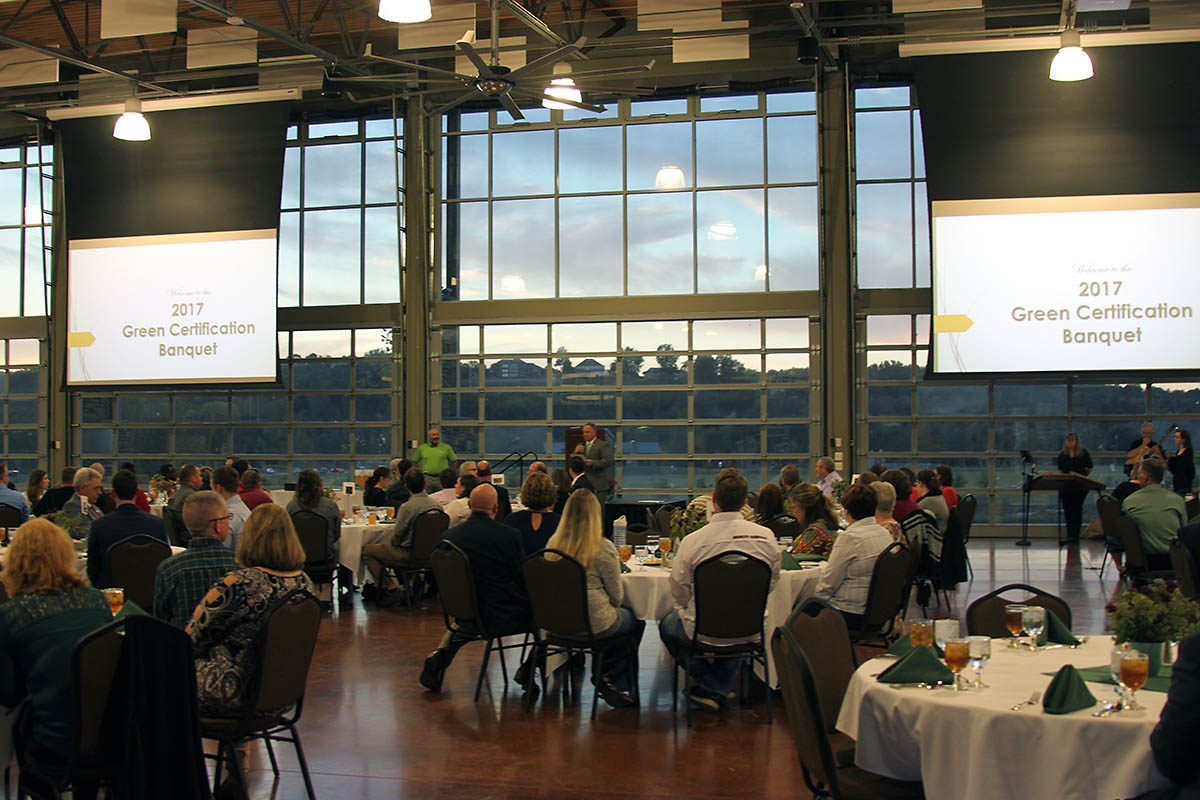 Clarksville Montgomery County Green Certification Program's annual Green Certification Banquet to be held September 28th..