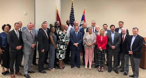 Montgomery County and the City of Clarksville Legislative Liaison Committees with State Representatives.