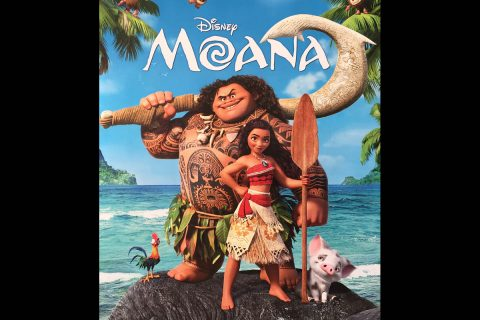 """Moana"" showing this Sunday, October 6th, at the Roxy Regional Theatre."