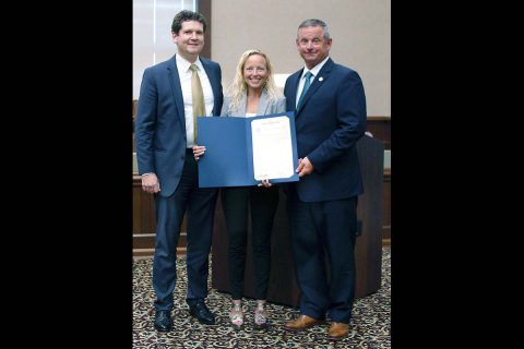 Montgomery County Mayor Jim Durrett proclaims September as Montgomery County Imagination Library Month.