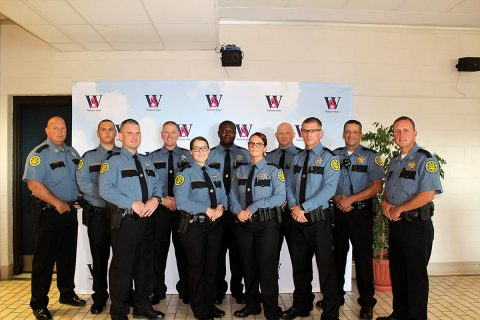 Montgomery County Sheriff's Office congradulates Devin Burkhart, Johnathan Acree, Richard Byers, Patricia Figueroa, Dante Turner, Danielle Prichard, Joshua Beck, and William Baker on their graduation.