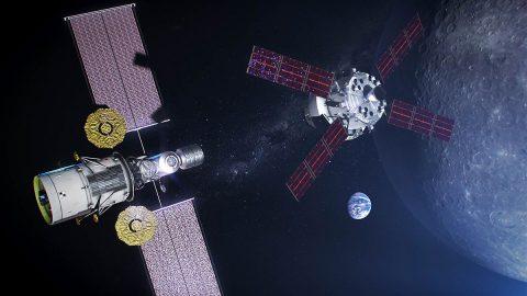 Gateway 2024 Artist Concept. (NASA)