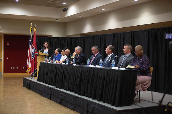 Poli-Talk – a panel discussion on local politics hosted by APSU's President's Emerging Leaders Program (PELP)