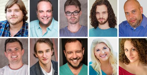"Stephen Sondheim's ""Assassins"" plays the Roxy Regional Theatre, October 4th - October 19th."