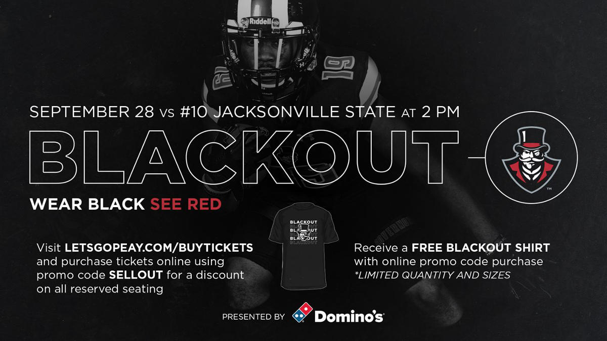 Austin Peay Football Jacksonville State Blackout