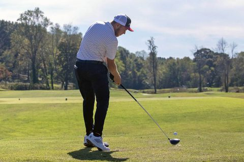 Austin Peay State University Men's Golf senior Michael Busse sits one shot out of first at F&M Bank APSU Intercollegiate. (APSU Sports Information)