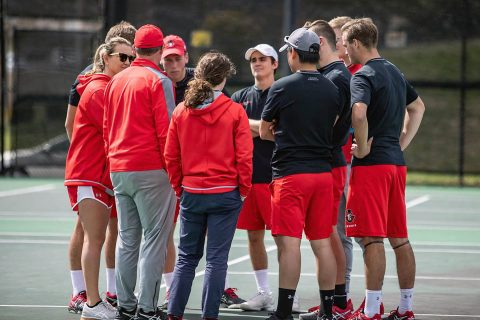 Austin Peay Men's Tennis to kick off 2019-20 season this weekend by hosting the APSU Hidden Duel at the Governor's Tennis Center. (APSU Sports Information)