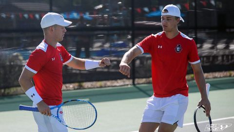 Austin Peay Men's Tennis travels this weekend to play in the Louisville Fall Invitational starting Friday. (APSU Sports Information)
