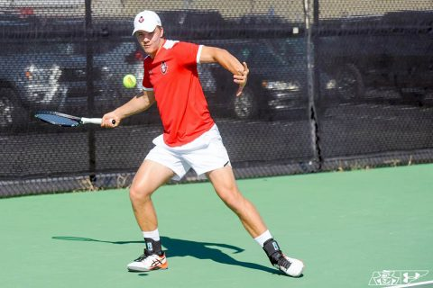 Austin Peay Men's Tennis wrapped up play at the Louisville Fall Invitational, Sunday. (APSU Sports Information)