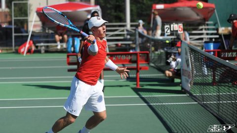 Austin Peay Men's Tennis continues play at the Intercollegiate Tennis Association Ohio Valley Regional, Saturday. (APSU Sports Information)