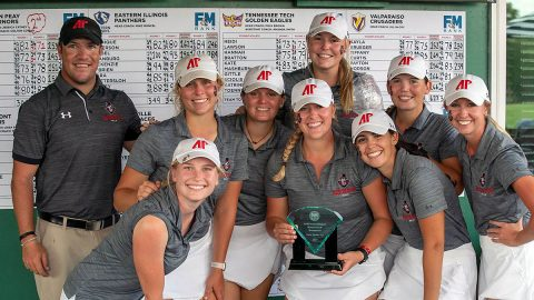 Austin Peay Women's Golf places Second and has four Govs finish in Top 10 at 2019 F&M Bank APSU Intercollegiate. (APSU Sports Information)