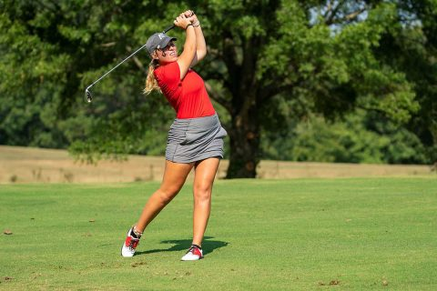 Austin Peay Women's Golf in position to make some noise on last day of Lady Red Wolves Classic. (APSU Sports Information)