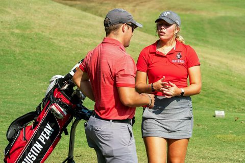 Austin Peay Women's Golf freshman Payton Elkins has big day Tuesday in final round of the Lady Red Wolves Classic. (APSU Sports Information)