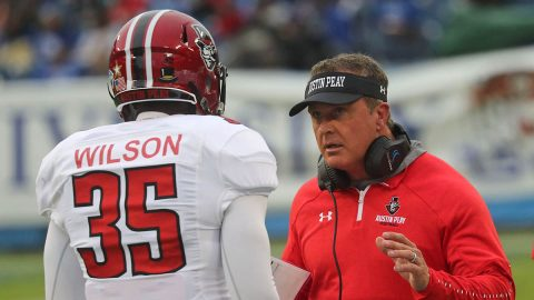 Austin Peay Football falls to Tennessee State 26-24 at Nissan Stadium, Saturday. (APSU Sports Information)