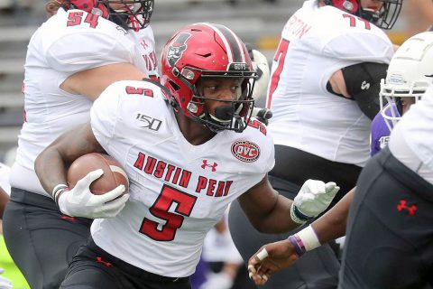 Austin Peay State University football's game at Eastern Kentucky has implications in OVC. (Robert Smith, APSU Sports Information)