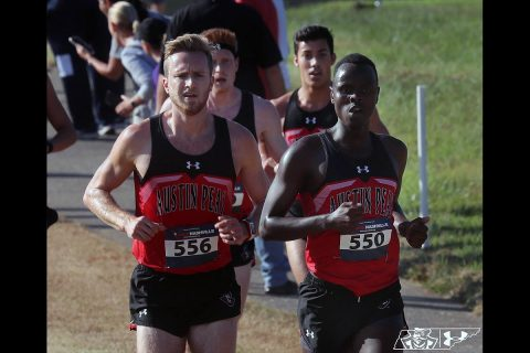 Austin Peay Men's Cross Country team finished the 2019 regular season at the Murray State Open. (APSU Sports Information)