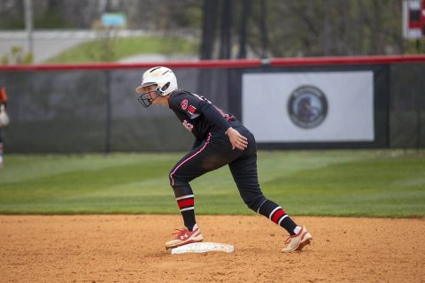 Austin Peay Women's Softball Red Team and Black Team played to a 1-1 tie Tuesday at the annual Fall World Series. (APSU Sports Information)