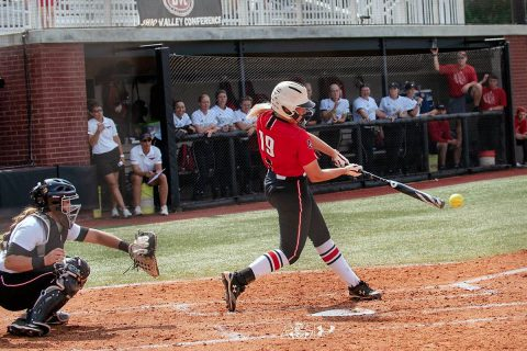 Austin Peay Softball's Red Team rallied to beat the Black Team 4-3 Wednesday in the APSU Fall World Series finale. (APSU Sports Information)