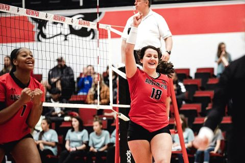 Austin Peay Women's Volleyball hosts Southeast Missouri this Friday at the Dunn Center. (APSU Sports Information)