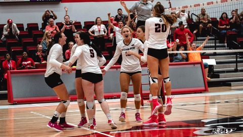 Austin Peay Women's Volleyball travels to Kentucky to take on Morehead State. (APSU Sports Information)