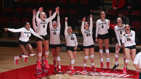 Austin Peay State University Women's Volleyball. (APSU Sports Information)