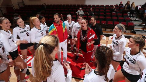 Austin Peay State University Volleyball to play Eastern Illinois and SIU Edwardsville this weekend at the Dunn Center. (APSU Sports Information)