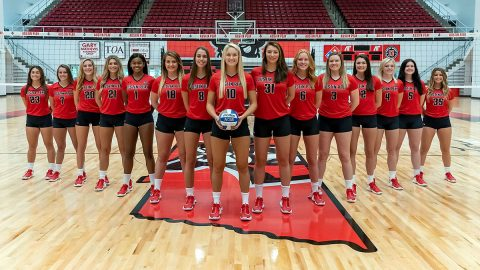 2019 Austin Peay Volleyball Team. (APSU Sports Information)