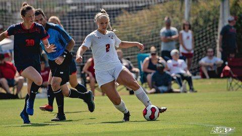 Austin Peay Women's Soccer holds off Eastern Kentucky Friday for 2-1 victory. (APSU Sports Information)