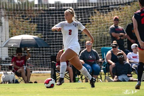 Austin Peay Women's Soccer looks to secure OVC Tournament spot with win over Eastern Illinois, Friday. (APSU Sports Information)