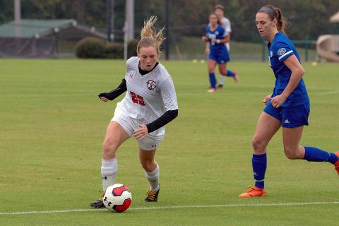 Austin Peay Women's Soccer battles Eastern Illinois at home to a tie but secures spot in OVC Championship. (APSU Sports Information)