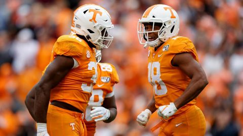 Tennessee Vols Football takes on South Carolina at Neyland Stadium Saturday at 3:00pm CT. (UT Athletics)