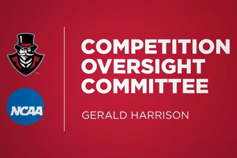 Austin Peay Director of Athletics Gerald Harrison has been appointed to the NCAA Division I Competition Oversight Committee. (APSU Sports Information)