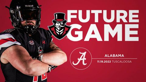 Austin Peay Football adds Alabama to 2020 Schedule. (APSU Sports Information)