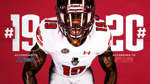 Austin Peay State University ranked #19 in AFCA FCS Coaches poll and #20 in STATS FCS Media poll. (APSU Sports Information)