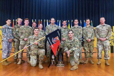 Austin Peay State University (APSU) Ranger Challenge team