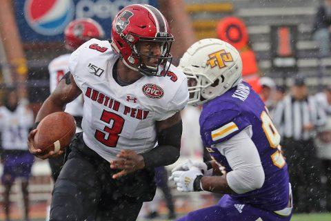 Austin Peay State University football quarterback Javaughn Craig. (APSU Sports Information)
