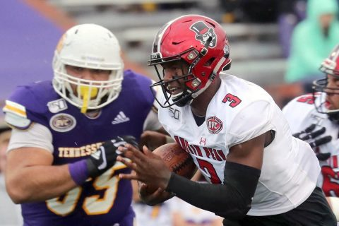Austin Peay State University football quarterback Javaughn Craig. (APSU Sports Information)