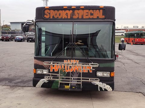 Clarksville Transit System's Spooky Bus will offer free rides on Halloween.