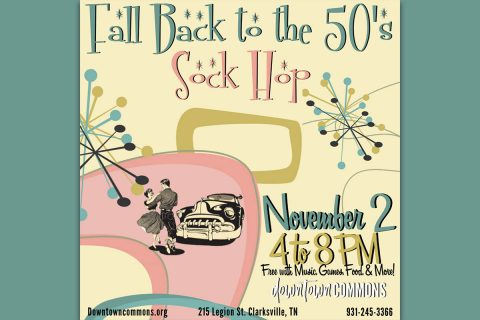 Fall Back to the 50's Sock Hop at Downtown Commons