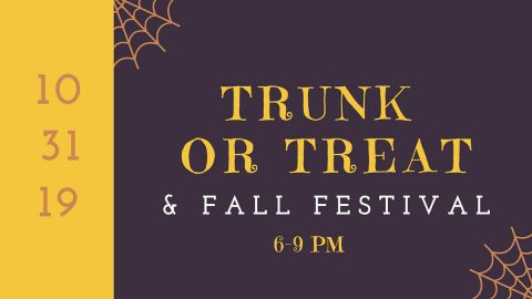Lone Oak Baptist Church Trunk or Treat, Fall Festival