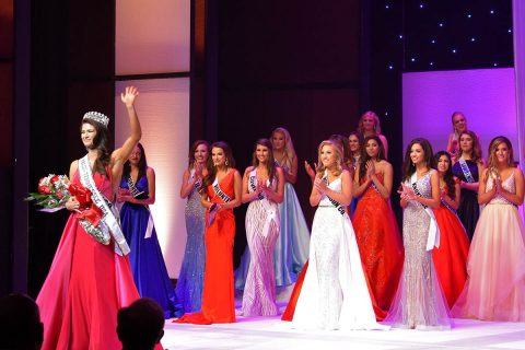 Savana Hodge is crowned Miss Tennessee USA 2019 at Austin Peay State University in Clarksville, Tennesse in October 2018.