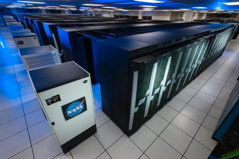The Pleiades supercomputer at NASA Ames is one of the many supercomputers used to find the limit of quantum supremacy. (NASA/Ames Research Center/Dominic Hart)