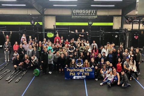 Austin Peay State University Psi Chi and the Psych Club to hold Got Your Six Throwdown CrossFit competition for veteran's mental health on November 16th. (APSU)