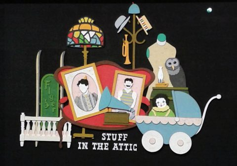 Stuff in the Attic by Landy R. Hales.