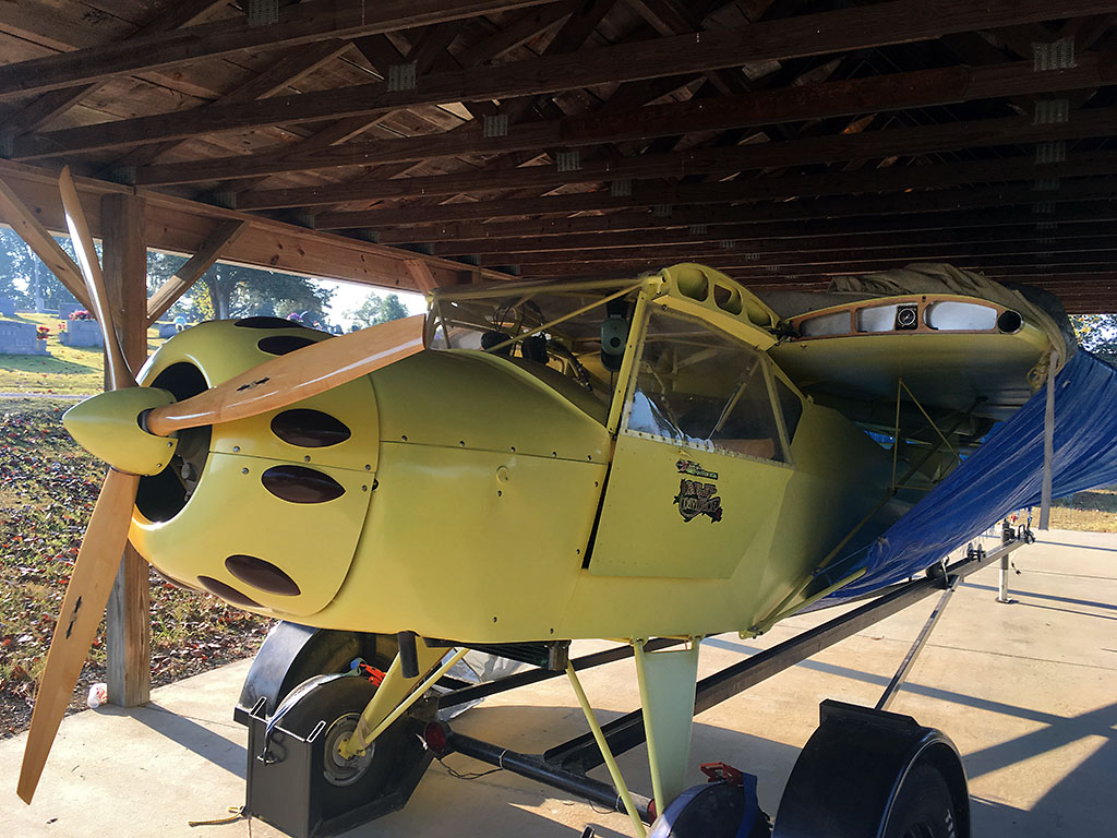 Tennessee Highway Patrol locates stolen aircraft in Putnam County.
