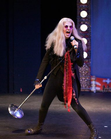 """Ryan Bowie returns to the role of Riff Raff in Richard O'Brien's """"The Rocky Horror Show"""" at the Roxy Regional Theatre"""