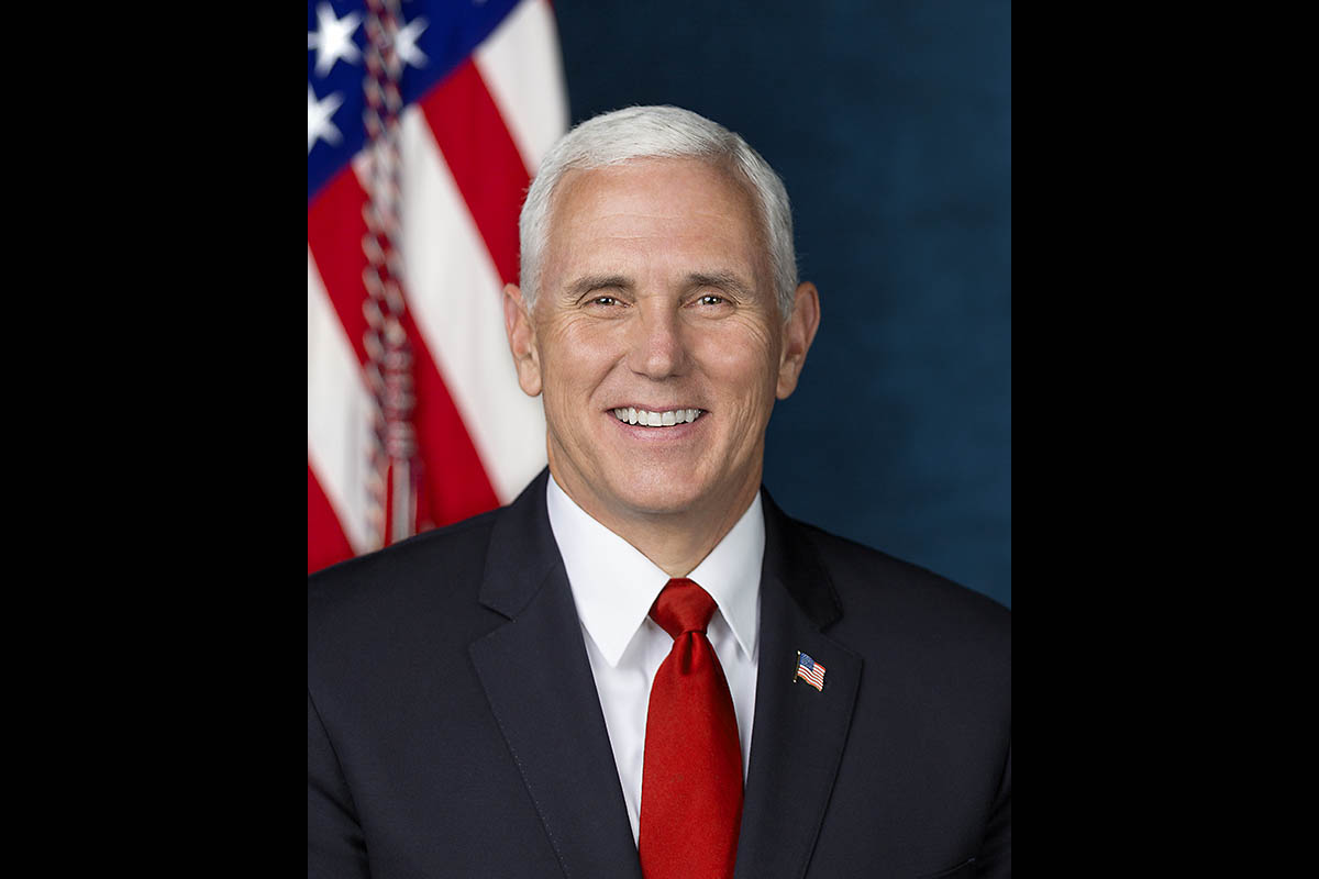 United States Vice President Mike Pence. (D. Myles Cullen)